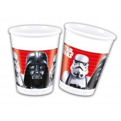 8 gobelets plastique Star Wars - La bataille finale