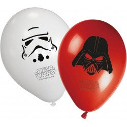 8 Ballons Star Wars 8