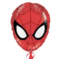 Ballon Hélium tête de Spiderman