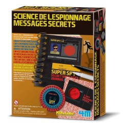 Kit science de l'espionnage et messages secrets