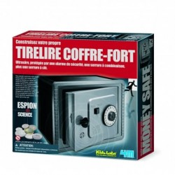 Kit de fabrication Tirelire Coffre-fort