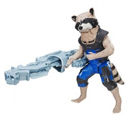 Figurine 30 cm Gardiens de la Galaxie - Rocket Raccoon