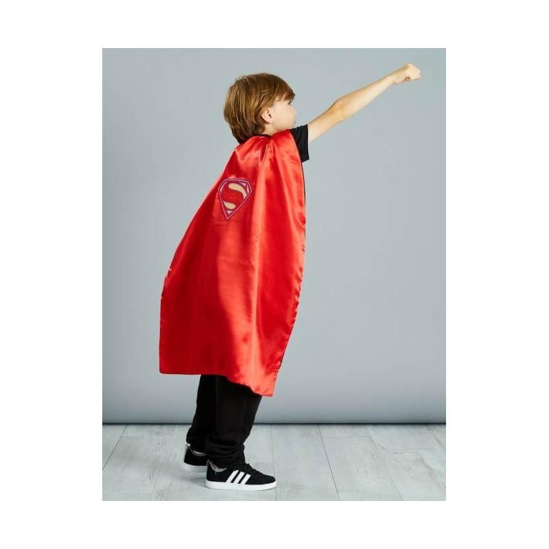 Cape pour enfant réversible Batman Superman