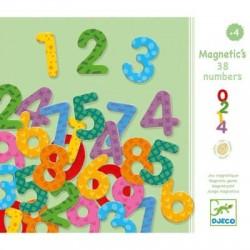 Chiffres magnétiques Djeco - 38 nombres