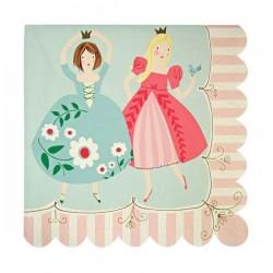 20 serviettes en papier Princesse - Meri Meri