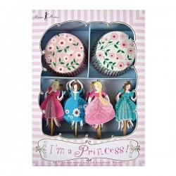 Kit Cupcakes Princesse - Meri Meri