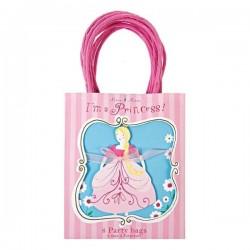 8 sacs de fête Princesse - Meri Meri