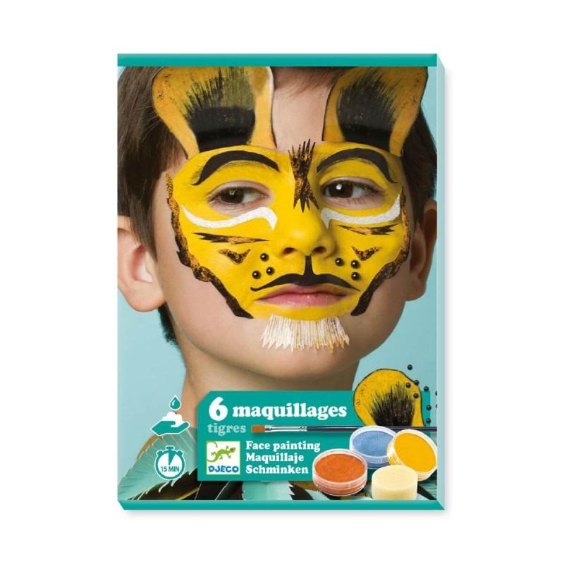 maquillage tigre facile - Djeco