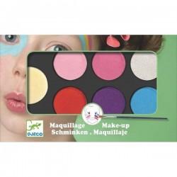 Maquillage Djeco - Palette et 6 couleurs sweet