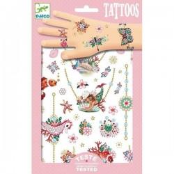 Tatouages Djeco - Les bijoux de Fiona