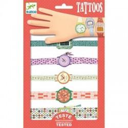 Tatouages Djeco - Les montres de Wendy