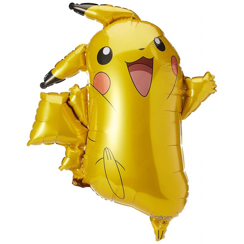 Ballon Pokemon Pikachu XXL Hélium