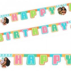 Guirlande Happy Birthday Vaiana
