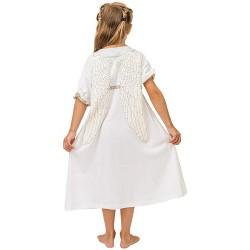 Pyjama Ange Blanc 5-6 ans