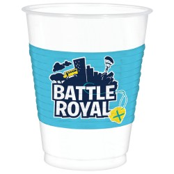8 gobelets Battle Royale 470 ml