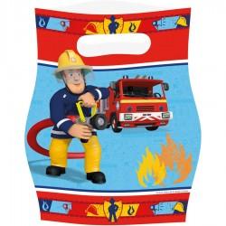 6 Sachets de bonbons Sam le pompier