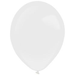 10 ballons de baudruche blancs