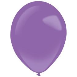 10 ballons de baudruche violets