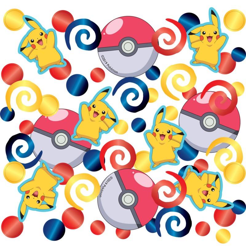 Confettis de table Pokemon