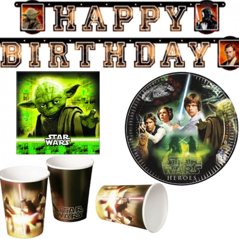 Kit anniversaire Star Wars