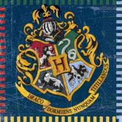 16 Serviettes en papier Harry Potter ™ 33 x 33 cm