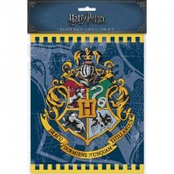 8 sacs cadeaux en plastique Harry Potter ™