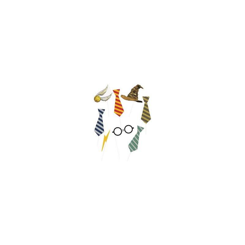 Kit photobooth Harry Potter 8 pièces