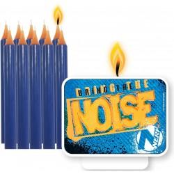 11 Bougies d'anniversaire Nerf