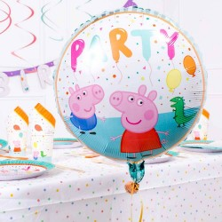 Ballon en aluminium Peppa Pig Party 45 cm