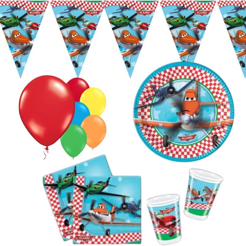 Déco Planes Disney pour anniversaire 43 pièces
