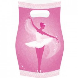 8 Sachets Anniversaire Danseuse Ballerine