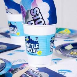 8 gobelets Battle Royale 470 ml