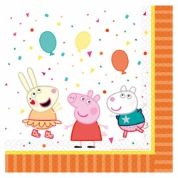 16 Serviettes Peppa Pig 33 x 33 cm