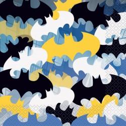 20 serviettes en papier Batman