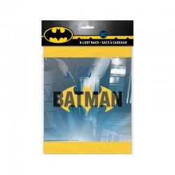 8 pochettes cadeaux Batman
