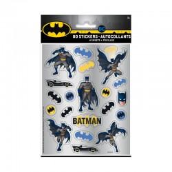 80 Stickers 3D BATMAN