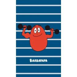 Serviette de plage Barbapapa - Barbidur